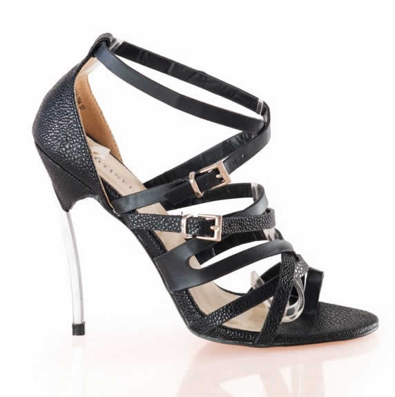 Sandale negre de ocazie