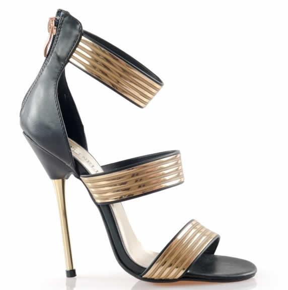 sandale de ocazie negre