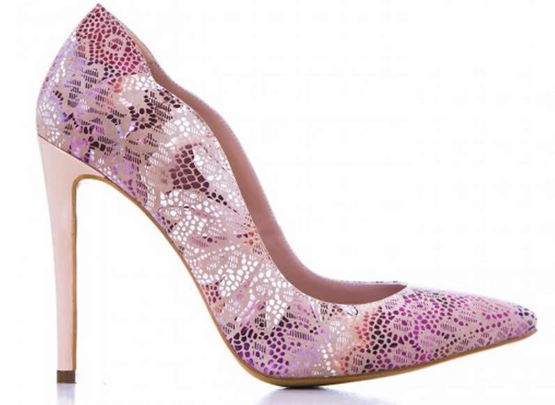 pantofi de dama eleganti mov