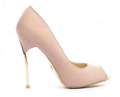 pantofi eleganti de dama nude