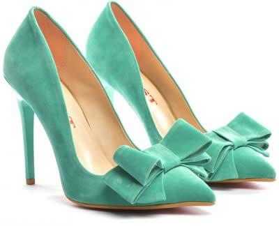 pantofi eleganti turcoaz