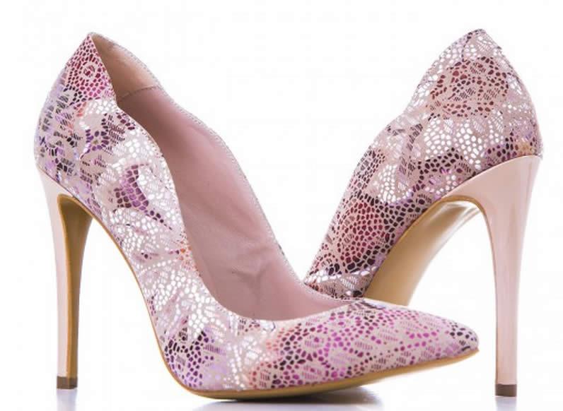 pantofi piele dama eleganti