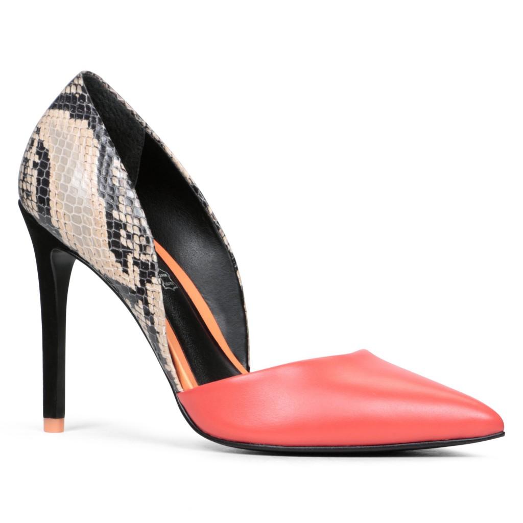pantofi stiletto aldo din piele naturala