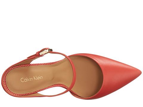 pantofi stiletto piele calvin klein