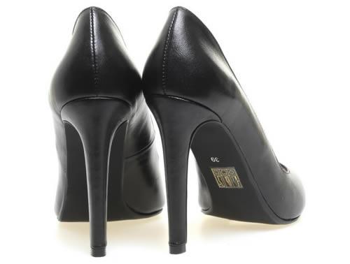 pantofi stiletto piele negri ieftini