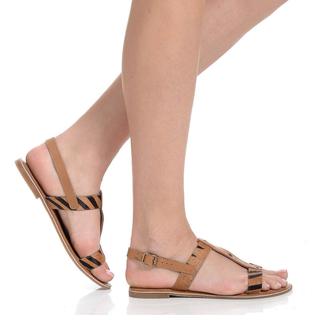 chilipir sandale piele dama talpa joasa