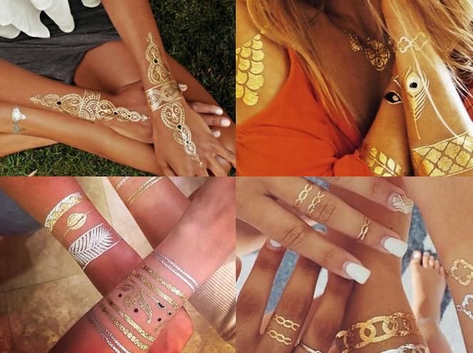 tatuaje temporare pe mana