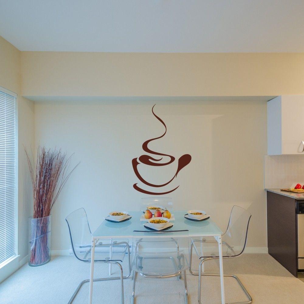 stickere perete cafea de bucatarie