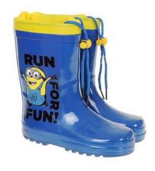 cizme albastre din cauciuc de ploaie pentru copii 2016