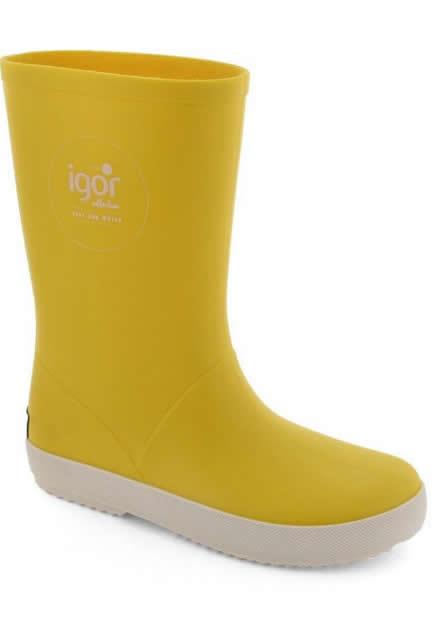 cizme de cauciuc de firma pentru copii galbene