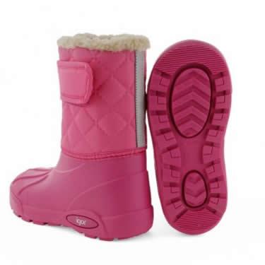 cizme de cauciuc de iarna pentru fete