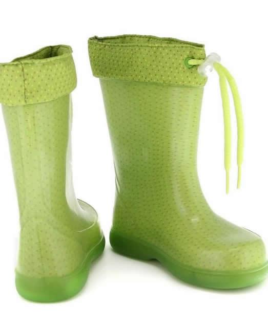 cizme de cauciuc pentru copii verzi